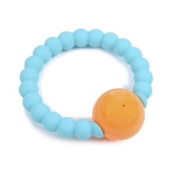 Chewbeads 100% Silicone Ring with Rattle
