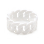 Chewbeads Stanton Teething Bracelet - Simply White