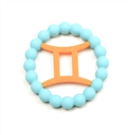 Silicone Zodiac Gemini Teether