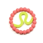 Silicone Zodiac Leo Teether
