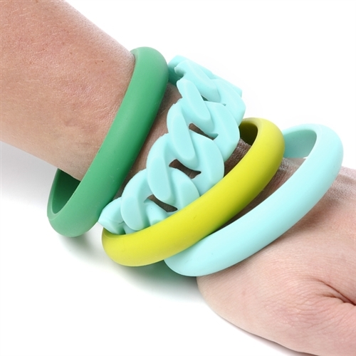 100 Silicone Teething Jewelry