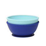 100% Silicone Suction Bowl (set of 2).  No bpa, no phthalates, or lead. Microwave/Dishwasher safe.  Sustainable products for less waste. Feed your child with high quality: bpa free, lead free, melamine free.  Free of any biologically harmful chemicals.