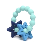 CB GO By Chewbeads 100% Silicone Central Park Teether. No bpa, phthalates, or lead.