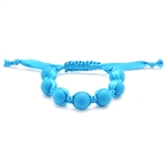 Chewbeads Cornelia Teething Bracelet  - Deep Sea Blue