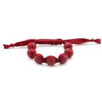 Chewbeads Cornelia Teething Bracelet  - Spiced Wine