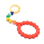 Chewbeads 100% Silicone Stroller and Car Seat Toy