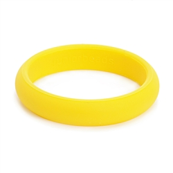 Juniorbeads Skinny Charles Jr.  Bangle (Glow in the Dark) - Lemon Ice