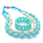 Chewbeads Necklace and Chewbeads Bracelet Gift Set