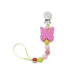 Chewbeads 100% Silicone Pacifier Clip