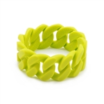 Chewbeads Stanton Teething Bracelet - Chartreuse