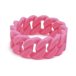Chewbeads Stanton Teething Bracelet - Punchy Pink