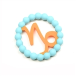 Silicone Zodiac Capricorn Teether