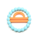 Silicone Zodiac Libra Teether